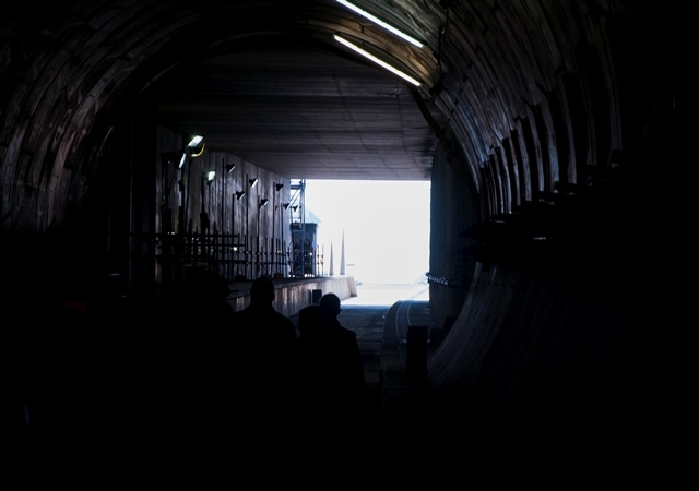 Light at the end of the tunnel at North Woolwich