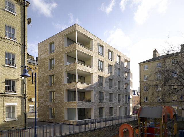 Darbishire Place in Whitechapel (c) Nick Kane