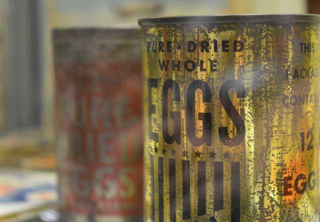 Dried Egg. Photo Paul Lindus.