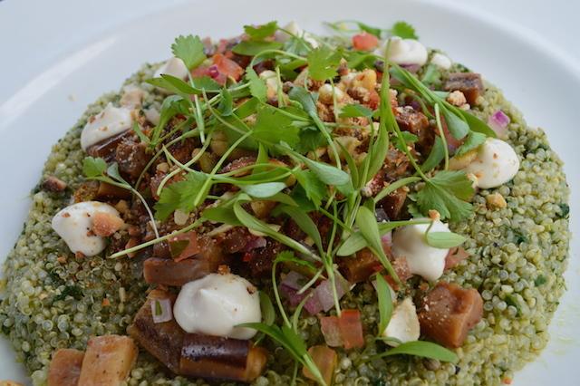 A quinoa salad.