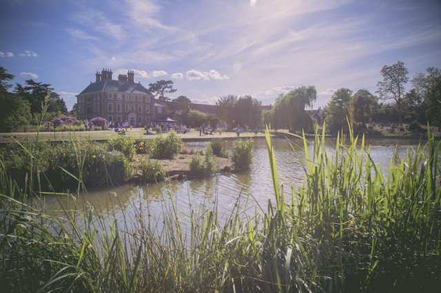 An idyllic summer's day at Forty Hall