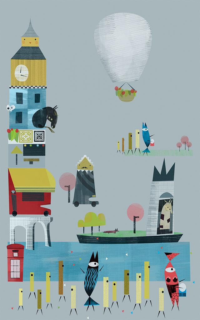 Laura Ochando-Jurado, The Collage City