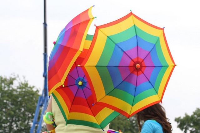 Umbrellas for sale in Finsbury Park. Photo: marcus_jb1973 (2007)