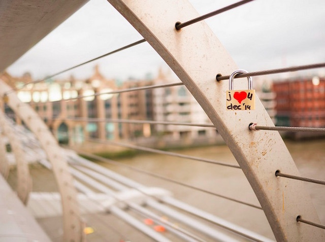 Millennium Bridge. Photo: Melissa Richards (2014)