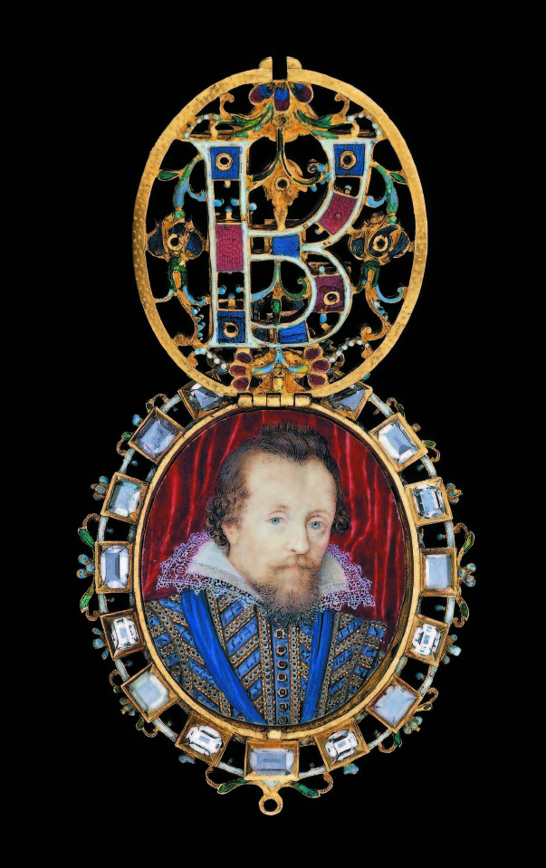 The locket contains a portrait by Nicholas Hilliard of James VI and I of Scotland and England. © The Trustees of the British Museum