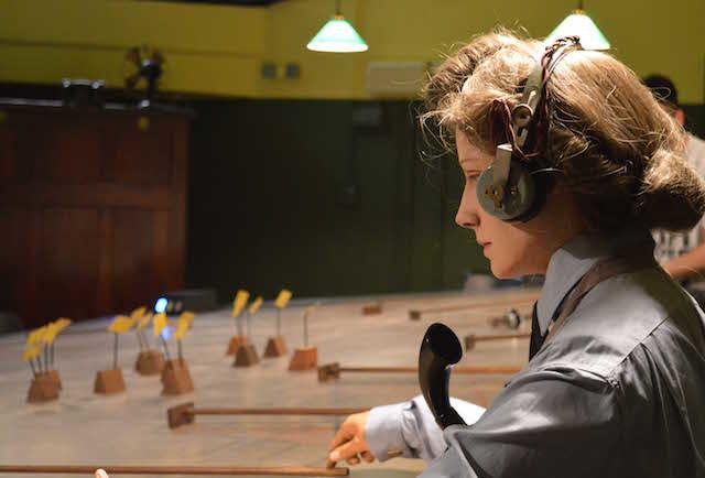Operator. Photo Sandra Lawrence.