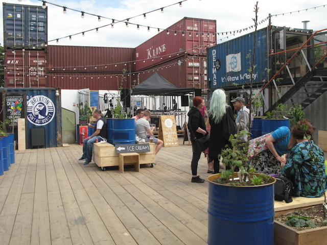 Brixton Food Market Shipping Containers