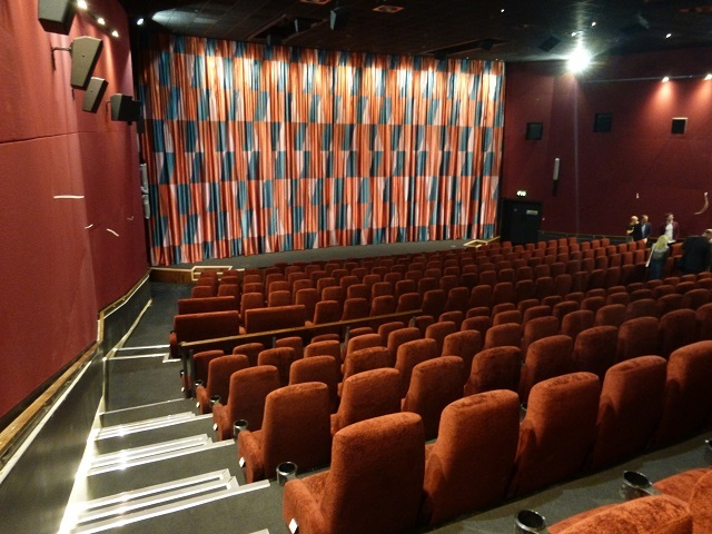 The Sigourney Weaver screen is the biggest in the complex. It features marmalade chairs and garish curtains, but more importantly has state-of-the-art kit including scope for 70mm too.