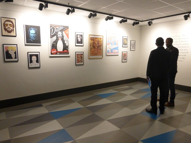 A small gallery will feature film-related exhibits.