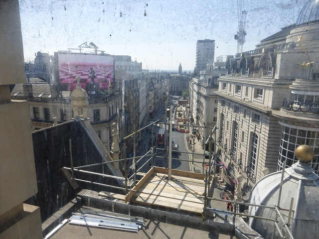 In phase two, a rooftop terrace and member's bar will open up new views of Piccadilly.