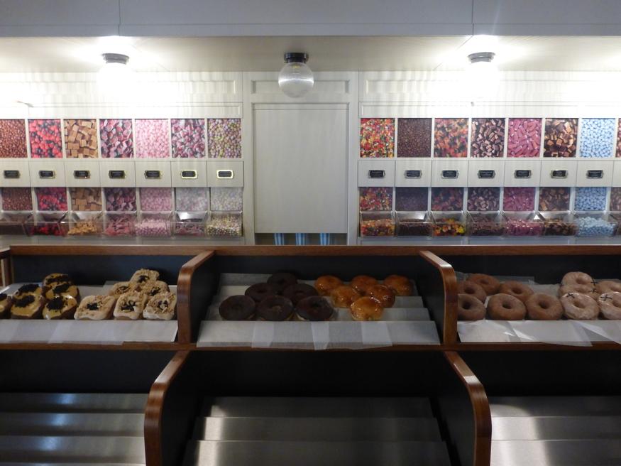 Mmm... doughnuts.