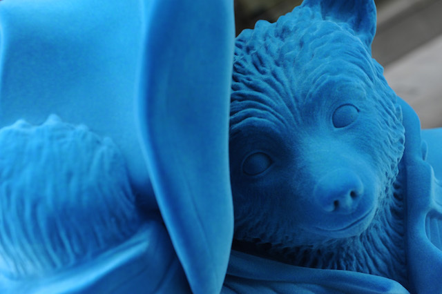Watch out for the gorgeous blue Paddington Bear