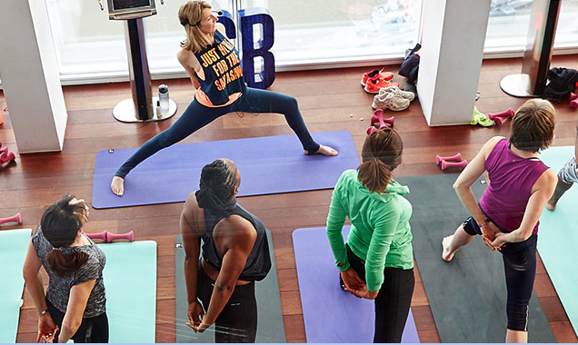Sweaty Betty's Get Fit 4 Free classes