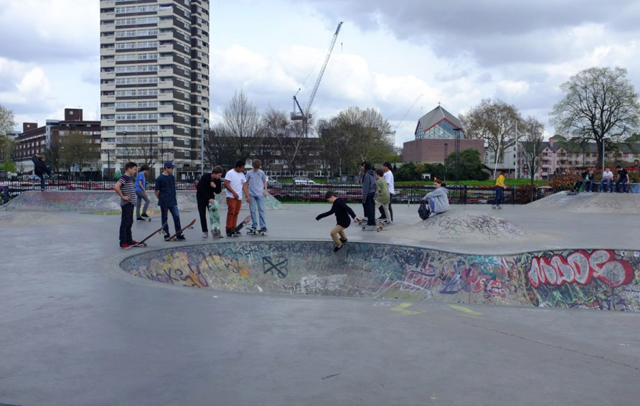 Skateboard Parks/Mile End