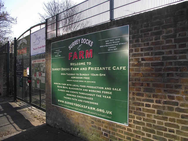 Surrey Docks City Farm
