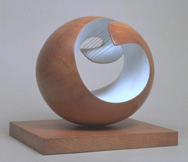 Pelagos is one of Hepworth's best known works. © Bowness, Hepworth Estate