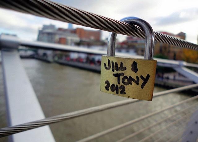 Millennium Bridge. Photo: Terry Moran (2012)