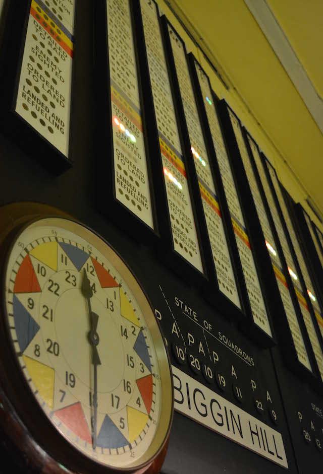 The clock. Photo Paul Lindus.