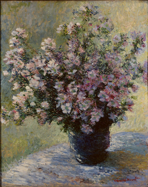 There's debate as to whether this Monet is complete, and even he reworked it many times. Copyright The Courtauld Gallery