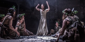 Whishaw Is God-Like In Less-Than Immaculate Production
