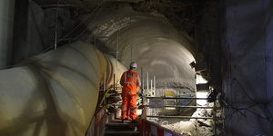 Video: Inside Farringdon Crossrail