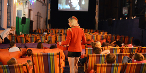 See Amy In Camden At Backyard Cinema Film Festival