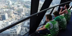 Climb To The Top Of The Gherkin