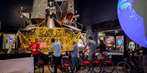 Cycle Your Way Around The Science Museum