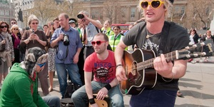 Here's Your Chance To Busk In London