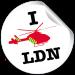 sticker for superimposing