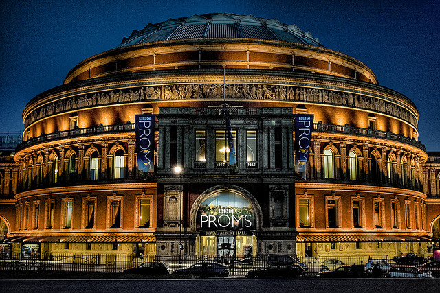 Royal Albert Hall. Photo: Simon Crubellier (2007)