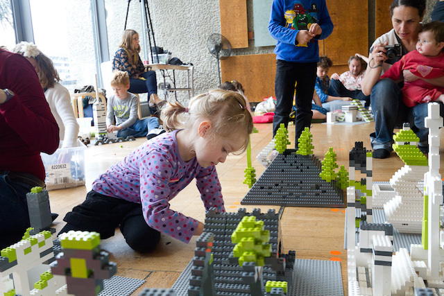 Let's Go LEGO challenge at the Archikids Festival