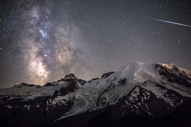 You don't need a telescope to capture a great image of the stars. ® Brad Goldpaint