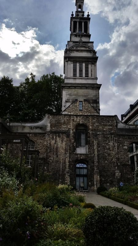 London's Little Gardens: Old City Church Sites