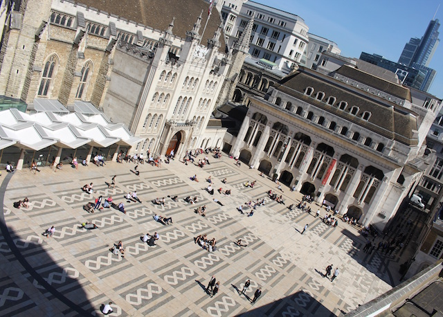 Guildhall Yard will be transformed...