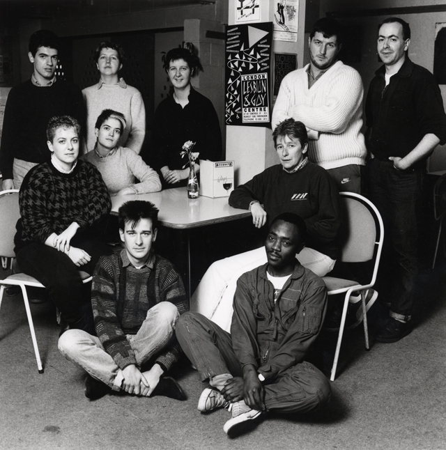 LB Islington, London Lesbian and Gay Centre in Cowcross Street, 1986 (Islington Local History Centre)