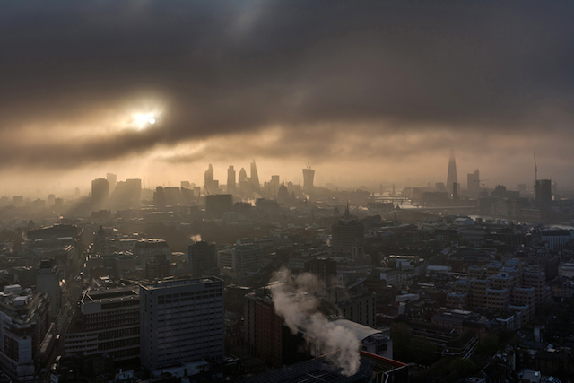 Moody sunrise from Centre Point, April 2014. I was hoping to shoot a classic, clear and beautiful sunrise but after a 10 minute white-out I was about to go home empty handed. Then the fog began to clear and it turned out far better than I could have imagined.