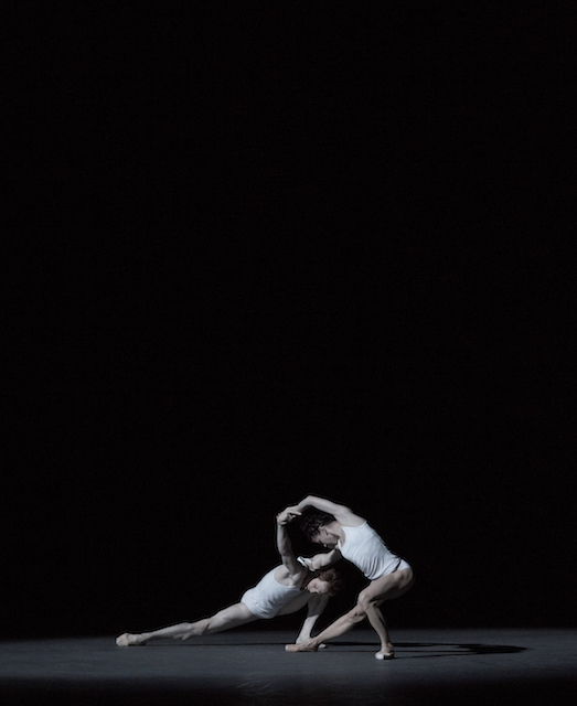 Natalia Osipova and Edward Watson in Zeitgeist. Photo: Andrej Uspenski
