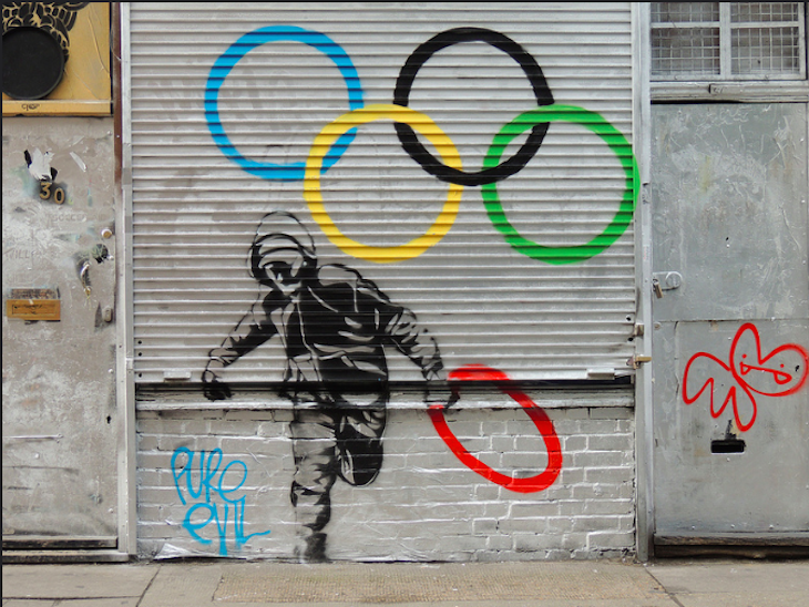 Olympic riots. Photo: P'ptje (2012)