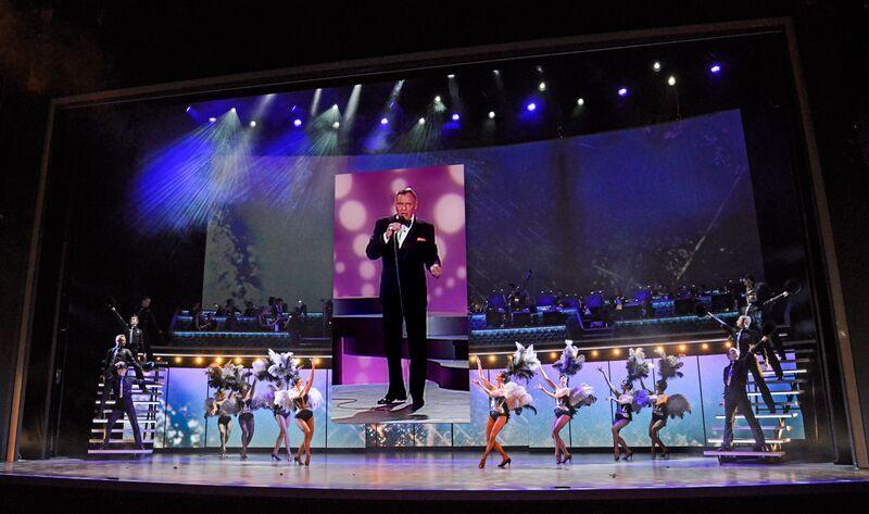 Sinatra Resurrected At The London Palladium