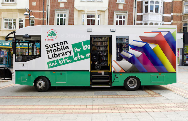 LB Sutton, mobile library, c.2012 (Sutton Council)