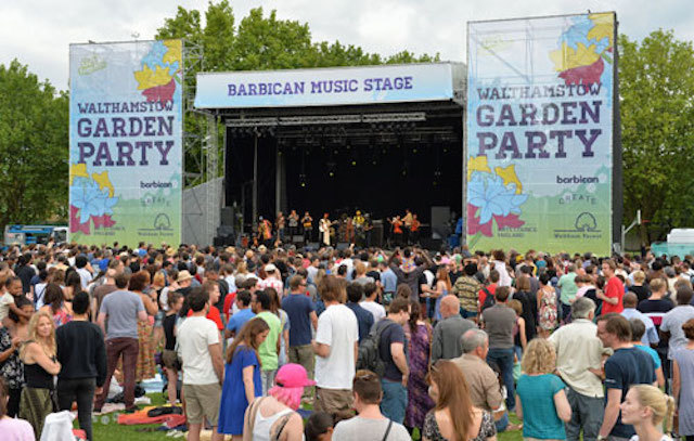 Salsa, Skating And Spoken Word At Walthamstow Garden Party