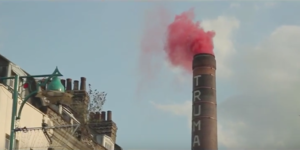 Why Was Red Smoke Coming Out Of Old Truman Brewery's Chimney?