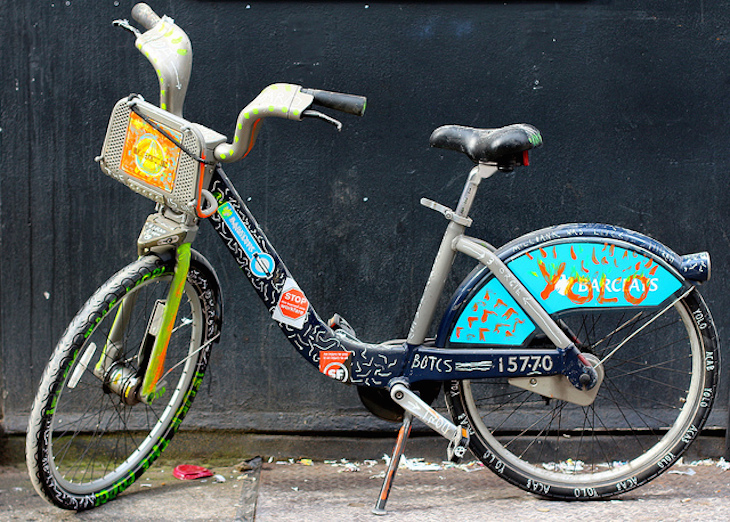 Pimped Boris Bike. Photo: Jason B (2014)