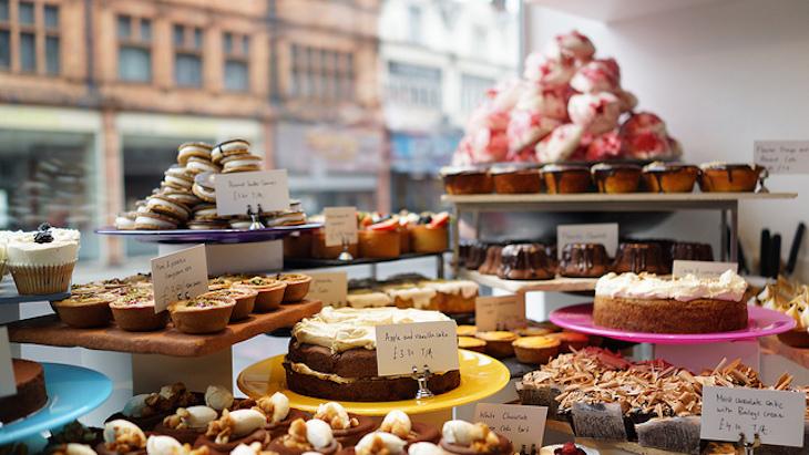 Baked goods in Ottolenghi, Islington. Photo: Spektrograf (2013)
