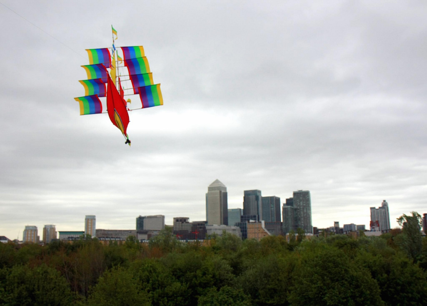 Where Can't You Fly A Kite In London?
