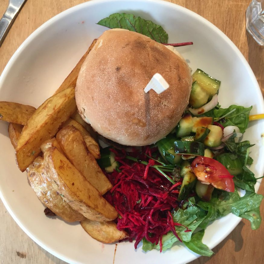 Best vegan food shops in London: Black Cat Cafe in Hackney