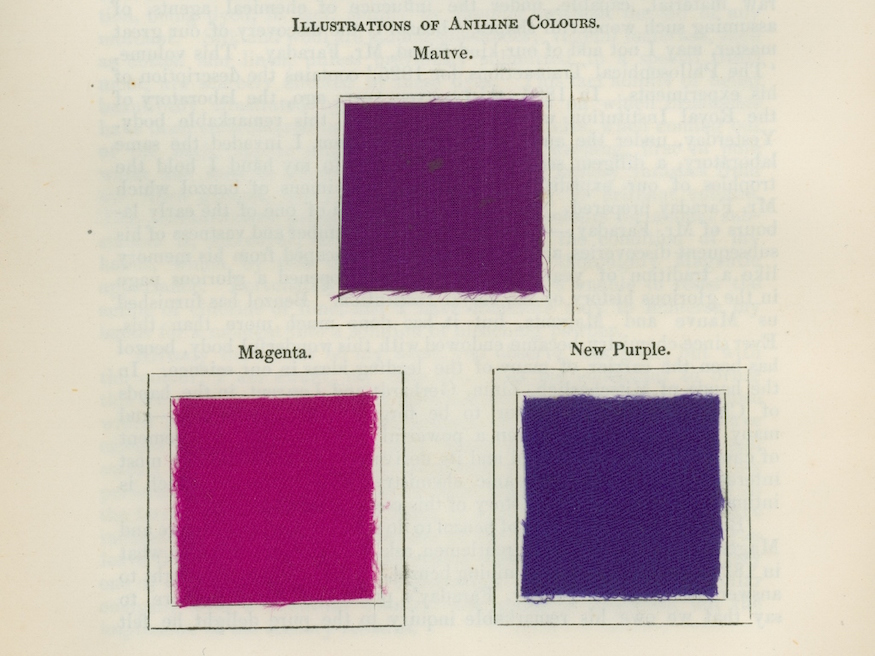 Royal Institution images of purple