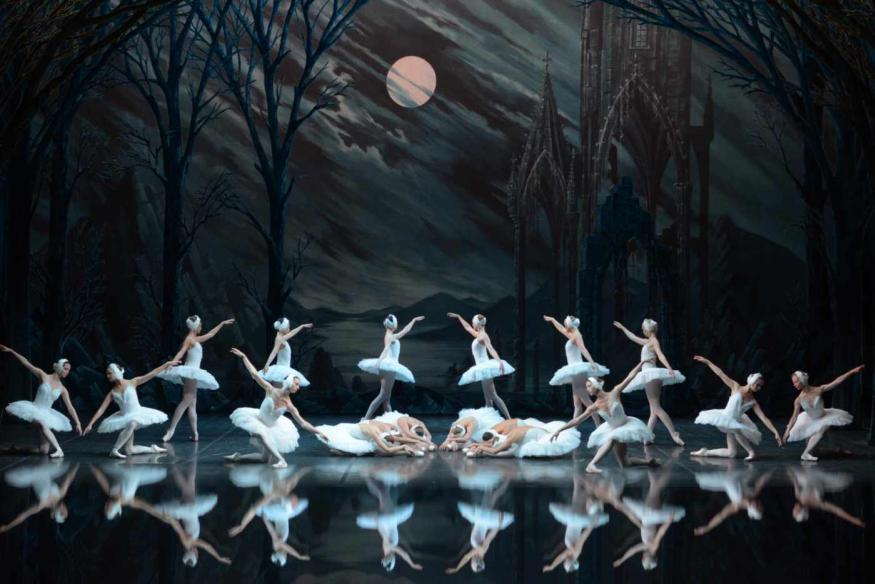 Russian Ballet Star Irina Kolesnikova Makes For An Enchanting, If Traditional, Swan