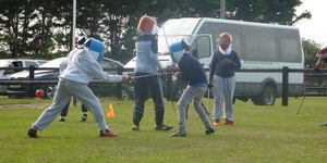 Have A Go At Fencing At An 18th Century Castle